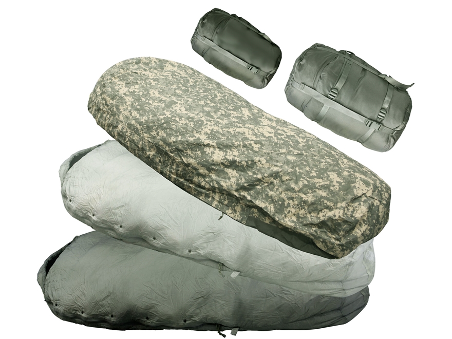 Military Surplus Improved MSS -20 Degree 5-Piece Sleeping Bag System