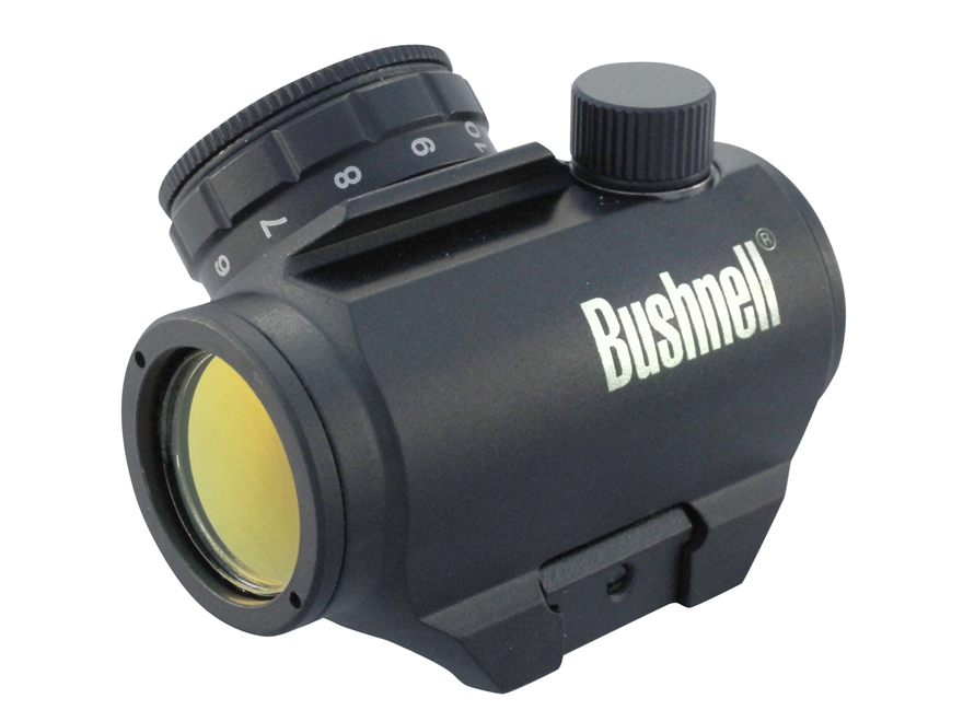Bushnell Trophy TRS-25 Red Dot Sight 1x 25mm 3 MOA Dot with Integral Weaver-Style Mount