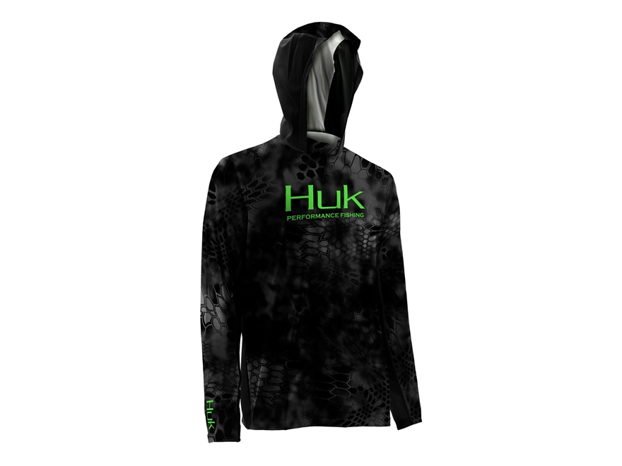 Huk Men's Kryptek Icon Performance Hoodie Polyester and Spandex