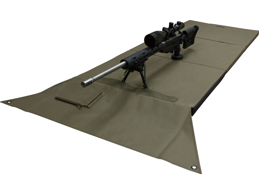 MidwayUSA D2D Padded Shooting Mat Olive Drab