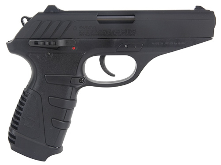 Gamo P-25 Air Pistol 177 Caliber Pellet with Blowback Black