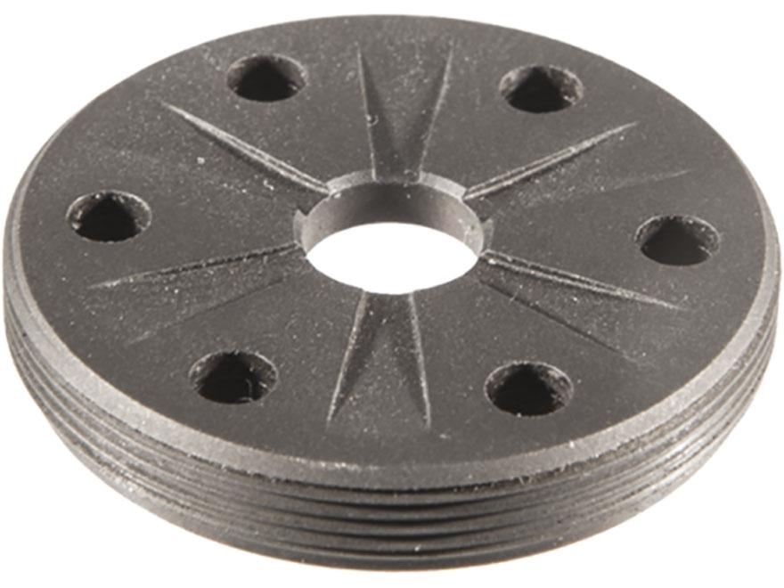 SilencerCo Saker 762 Front Flat Cap Steel Matte
