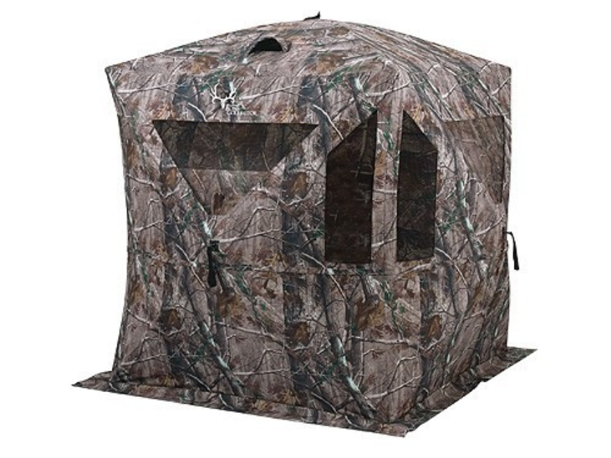 "Ameristep Bone Collector Ground Blind 75"" x 75"" x 69"" Polyester Realtree AP Camo"