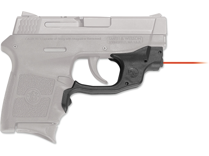 Crimson Trace Laserguard Smith & Wesson M&P Bodyguard 380 Polymer Black