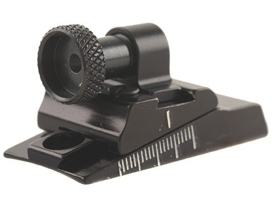 Williams WGRS-700 Guide Receiver Peep Sight Remington 700 and Howa 1500 Aluminum Black