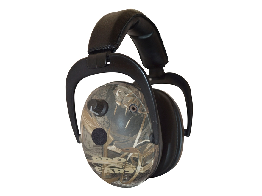 Pro Ears Predator Gold Electronic Earmuffs (NRR 26 dB) Max 5 Camo
