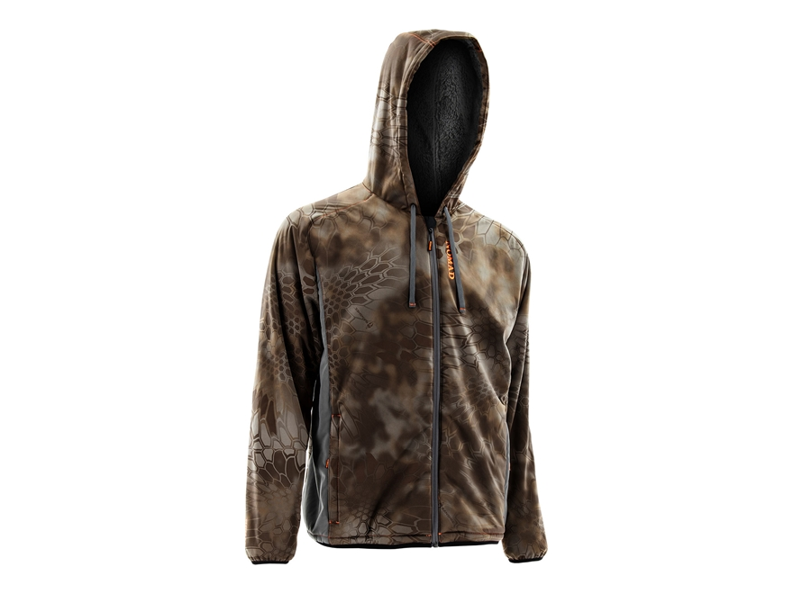 NOMAD Men's Harvester Full Zip Scent Control Hoodie Polyester