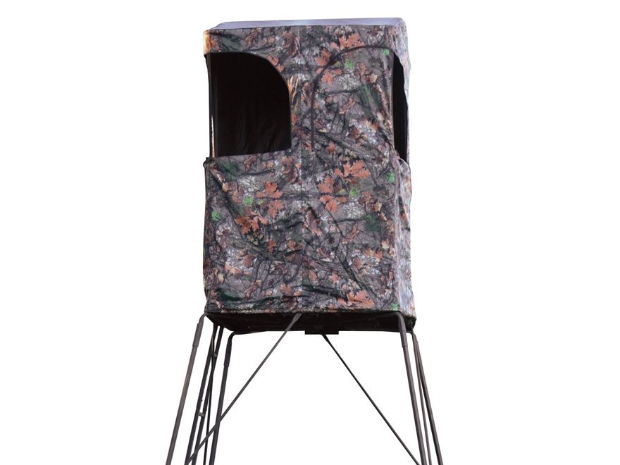 Rivers Edge Outpost 10' Tower Blind Steel Black