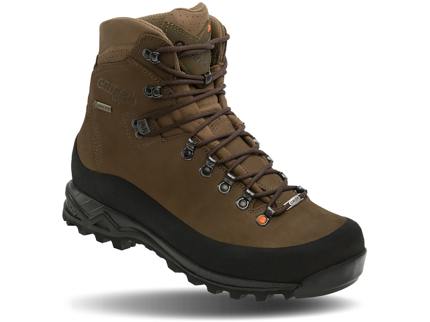 "Crispi Nevada GTX 8"" Waterproof Hunting Boots Leather Men's"