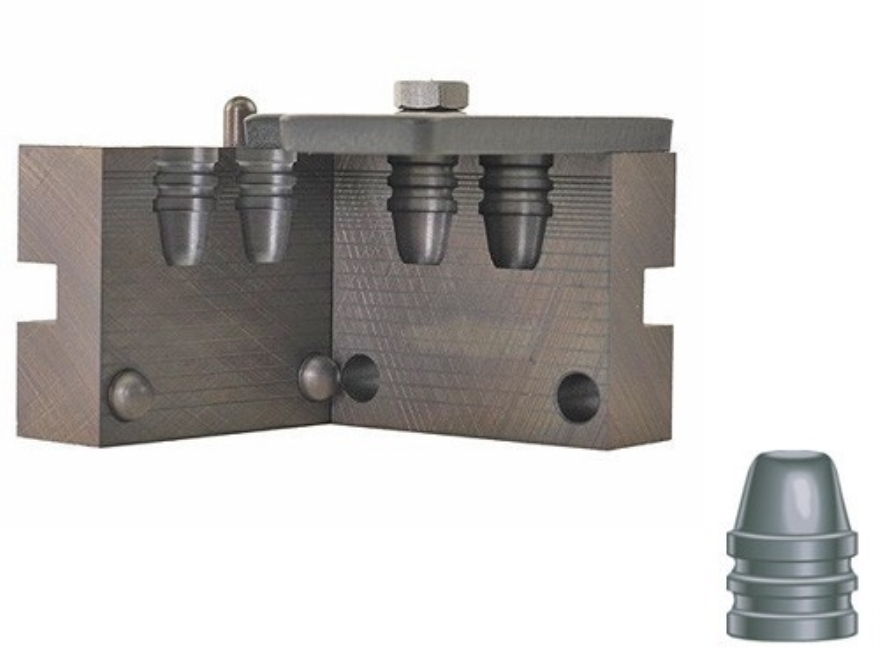RCBS 2-Cavity Bullet Mold 45-200-SWC 45 Caliber (452 Diameter) 200 Grain Semi-Wadcutter