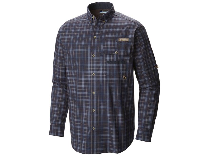 Columbia Men's Super Sharptail Button-Up Shirt Long Sleeve Cotton