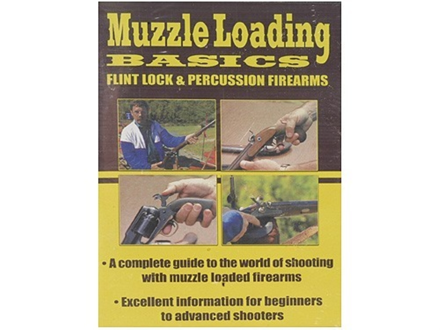 "Gun Video ""Muzzleloading Basics: Flintlock and Percussion Firearms"" DVD"