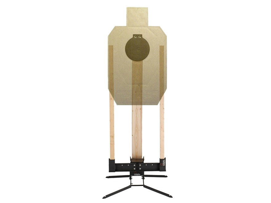 """Challenge Targets SD Pivot Target Stand with Target Holder and 8"""" Steel Pistol Plate"""