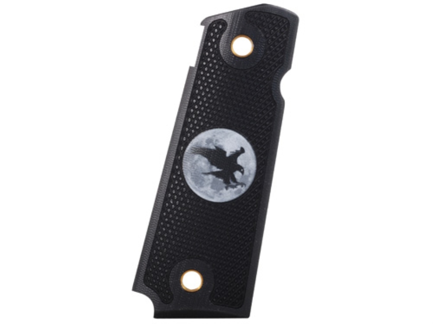 Nighthawk Custom Thin AlumaGrips 1911 Government, Commander with Nighthawk Logo Aluminu...