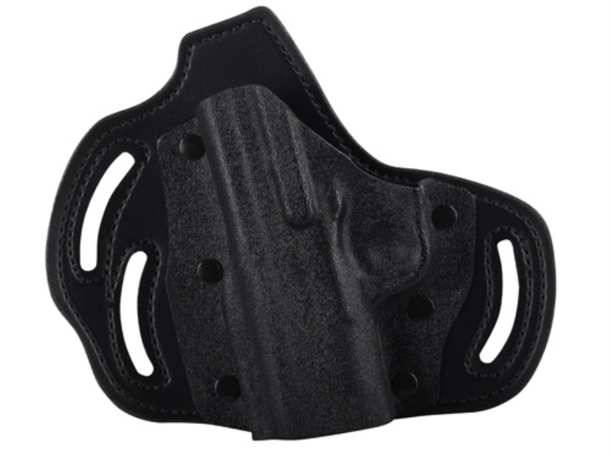 DeSantis Intimidator Outside the Waistband Holster Left Hand Kahr PM45 Kydex and Leathe...