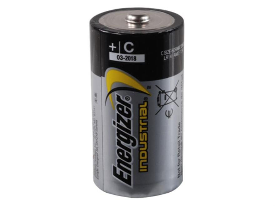 Energizer Battery C Industrial EN93 1.5 Volt Alkaline Pack of 12