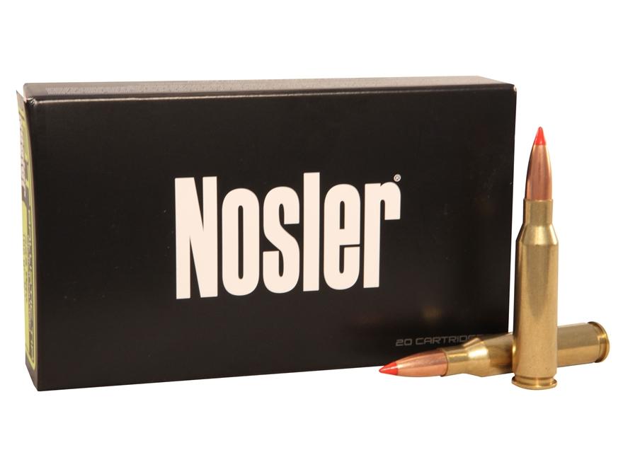 Nosler BT Ammunition 7mm-08 Remington 120 Grain Ballistic Tip Box of 20