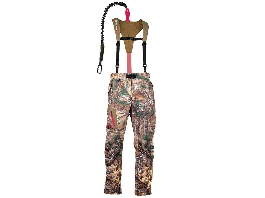 Tree Spider Women's SOLA SpiderWeb FeatherLite Safety Harness Bibs Polyester Realtree X...