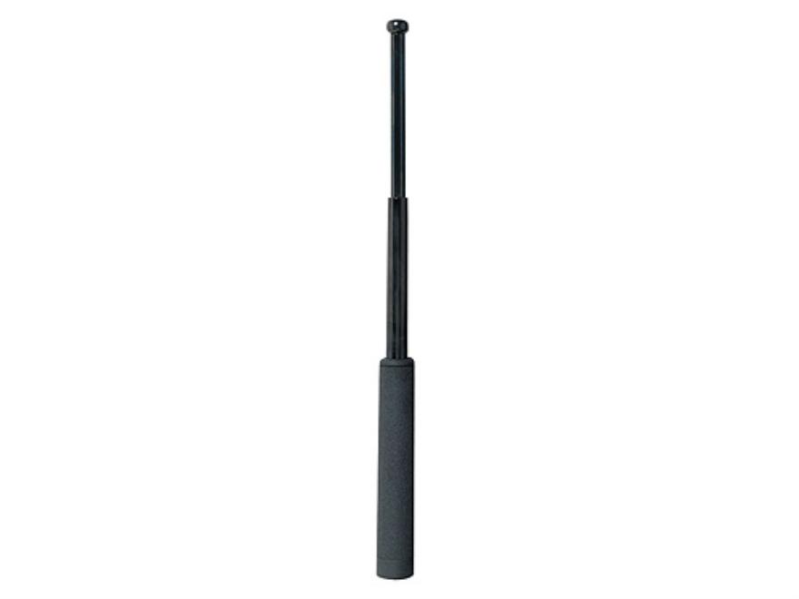 """ASP Friction Loc Baton 21"""" Expandable 4140 Steel Shaft Black Chrome Finish Dura Tec Gri..."""