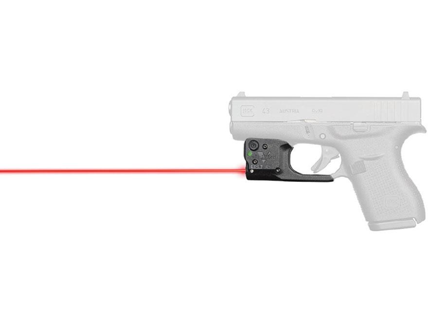 Viridian Reactor 5 Laser Sight Glock 43 Polymer Black with Hybrid Belt Holster