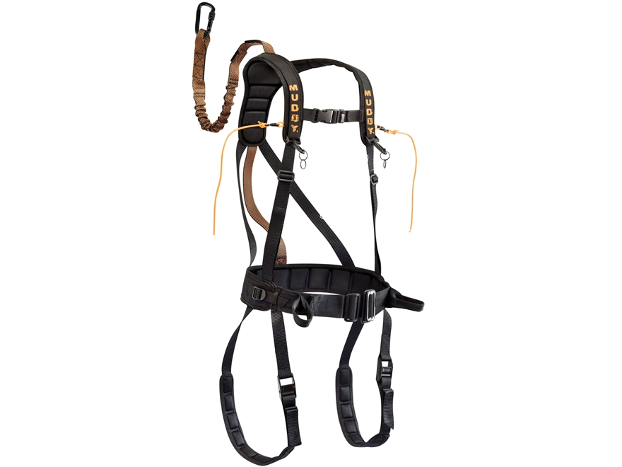 Muddy The Safeguard Treestand Safety Harness Nylon Black