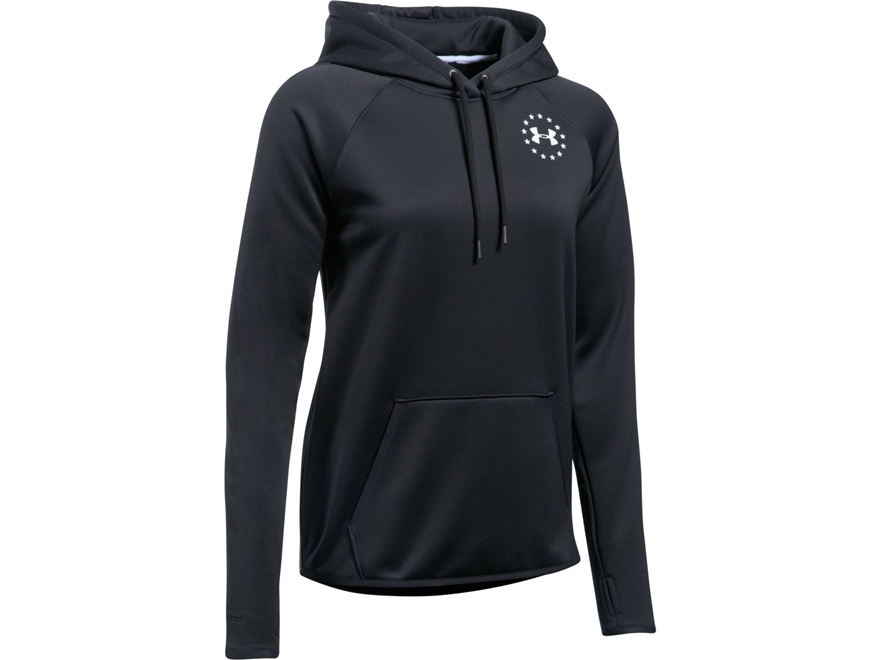 Under Armour Women's UA Freedom Flag Rival Hoodie Cotton/Polyester