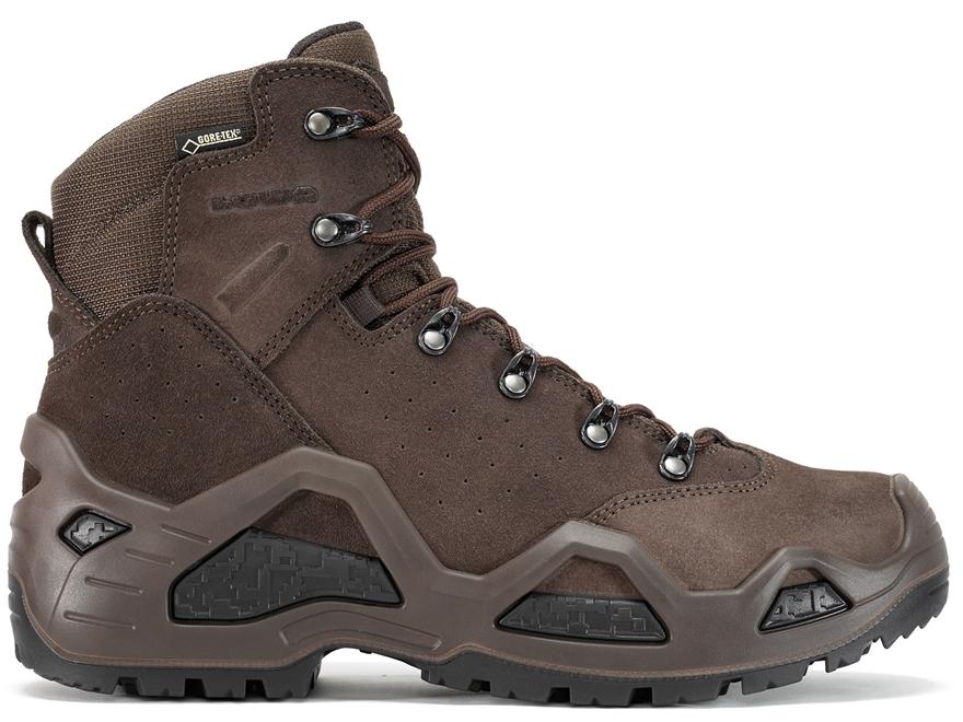 "Lowa Z-6S GTX 6"" Waterproof Hunting Boots Leather/Cordura Men's"