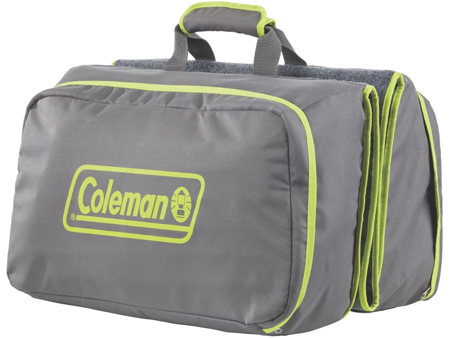 Coleman Camp Mat Carry All Polyester Gray and Green