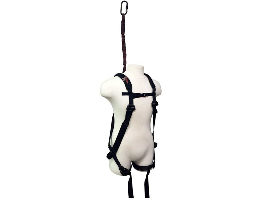X-Stand The Freedom Ultra Light Treestand Safety Harness Black