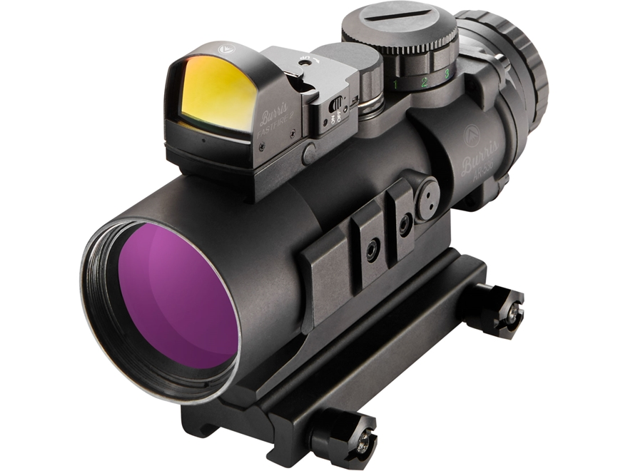Burris AR-536 5x 36mm Prism Sight Ballistic CQ Reticle Matte with FastFire II Reflex Re...
