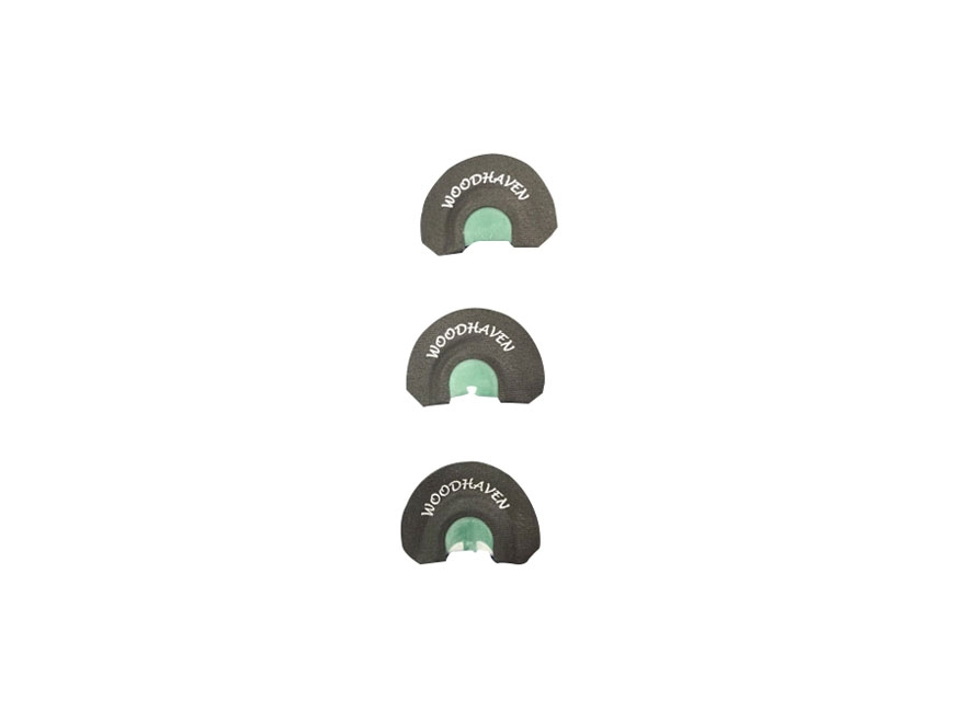 Woodhaven Ninja Combo Diaphragm Turkey Call Pack of 3