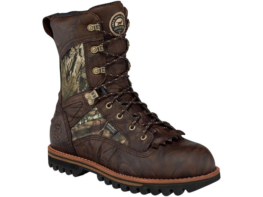 "Irish Setter Elk Tracker 10"" Waterproof 800 Gram Insulated Hunting Boots Leather Mossy ..."