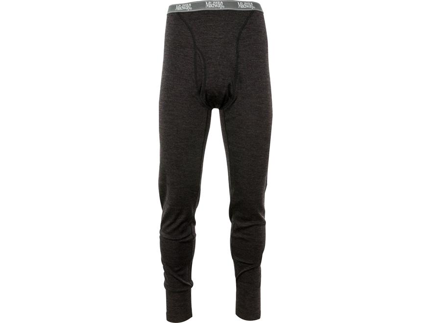 MidwayUSA Men's Mid-Weight Merino Wool Base Layer Pants