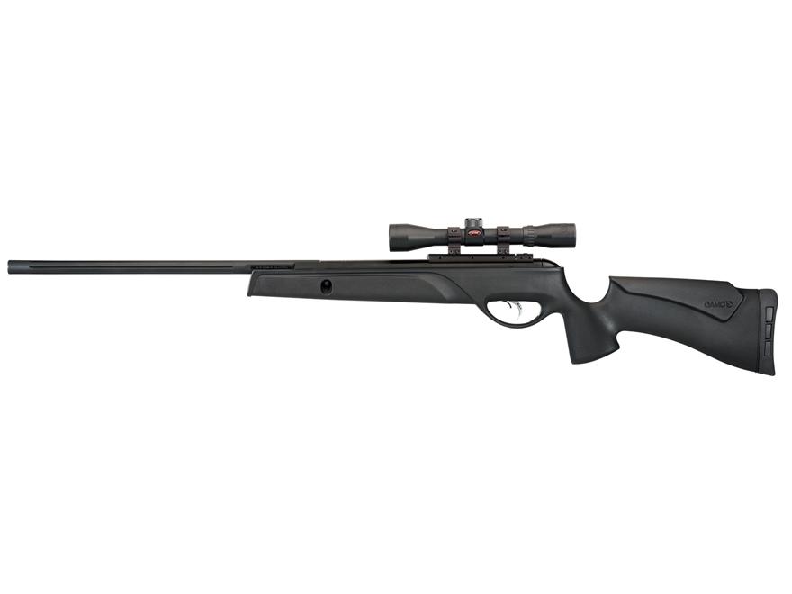 Gamo Big Cat 1400 Break Barrel Air Rifle 177 Caliber Pellet Black Synthetic Stock Blued...