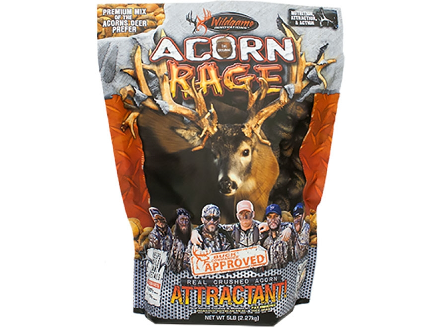 Wildgame Innovations Buck Commander Acorn Rage Deer Attractant Powder 5 lb