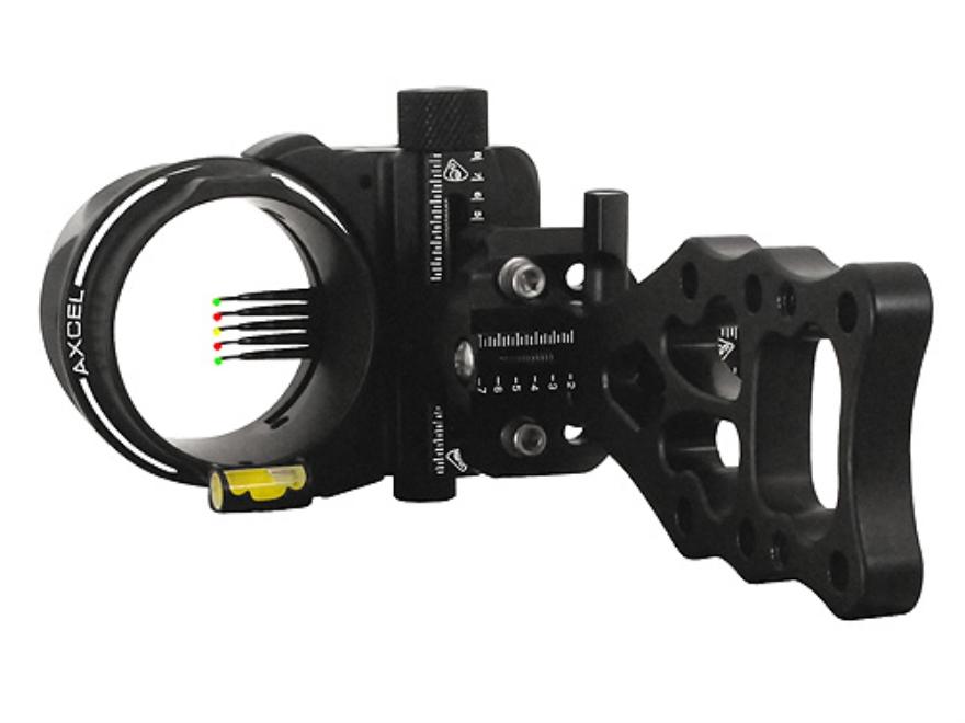"T.R.U. Ball Axcel ArmourTech 5-Pin Bow Sight .019"" Pin Diameter Aluminum Black"