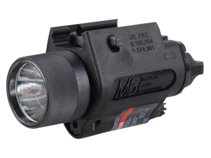 Insight Tech Gear M6 Tactical Illuminator Flashlight with Laser Halogen Bulb  fits Pica...