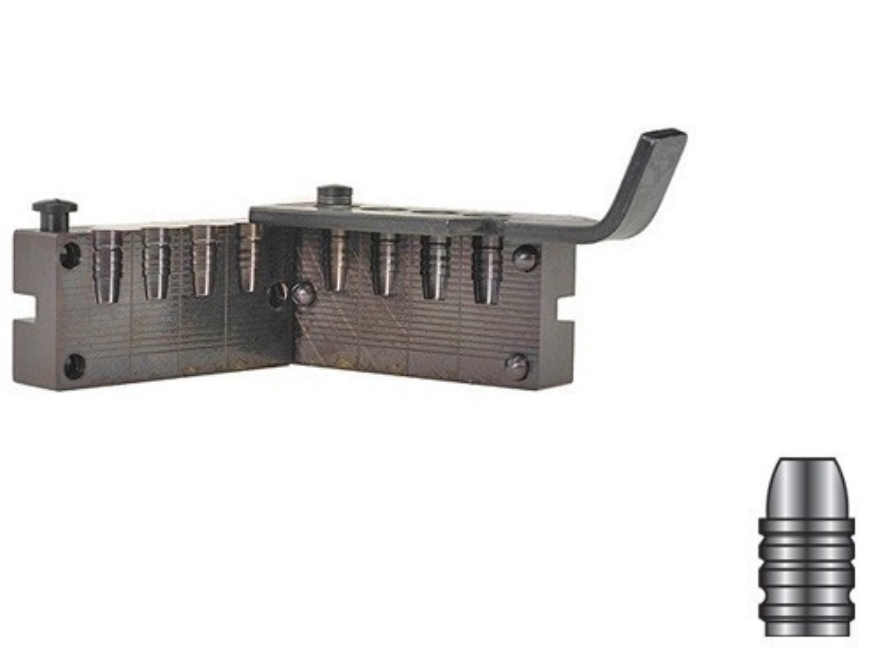 Lyman 4-Cavity Bullet Mold #358156 38 Special, 357 Magnum (358 Diameter) 155 Grain Semi...