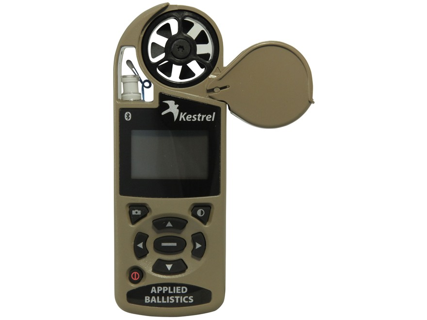 Kestrel 4500 Electronic Hand Held Weather Meter with Applied Ballistics Calculator and ...