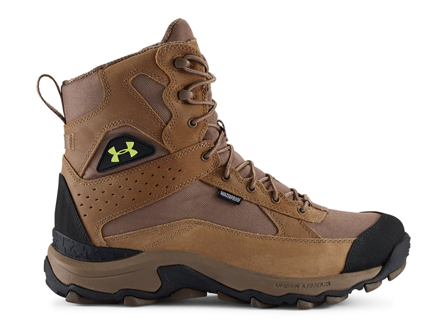"""Under Armour UA Speed Freek Bozeman 8"""" Waterproof Uninsulated Hunting Boots Leather and..."""