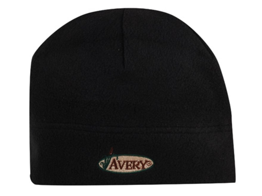 Avery Skull Cap Fleece Black