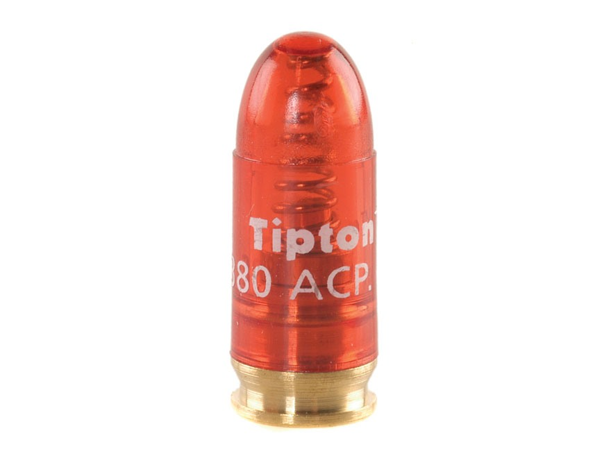 Tipton Snap Cap 380 ACP Polymer Package of 5