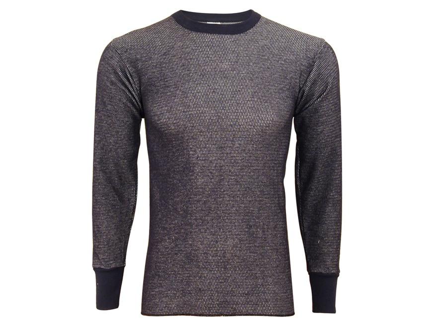 Indera Men's Hydropur Raschel Knit Performance Long Sleeve Thermal Shirt