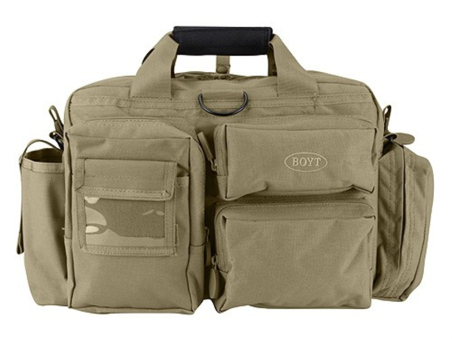Boyt Tactical Briefcase Nylon Tan