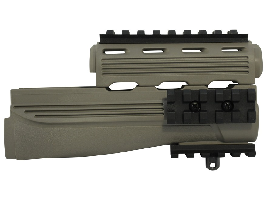 Advanced Technology Strikeforce Modular Handguard with Removable Picatinny Rails AK-47,...