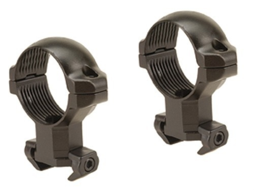 "Millett 1"" Angle-Loc Windage Adjustable Ring Mounts Tikka Matte High"