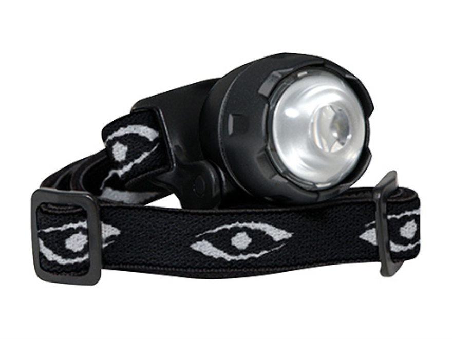 Cyclops Atom Headlamp LED with 2 CR2032 Batteries Polymer Black