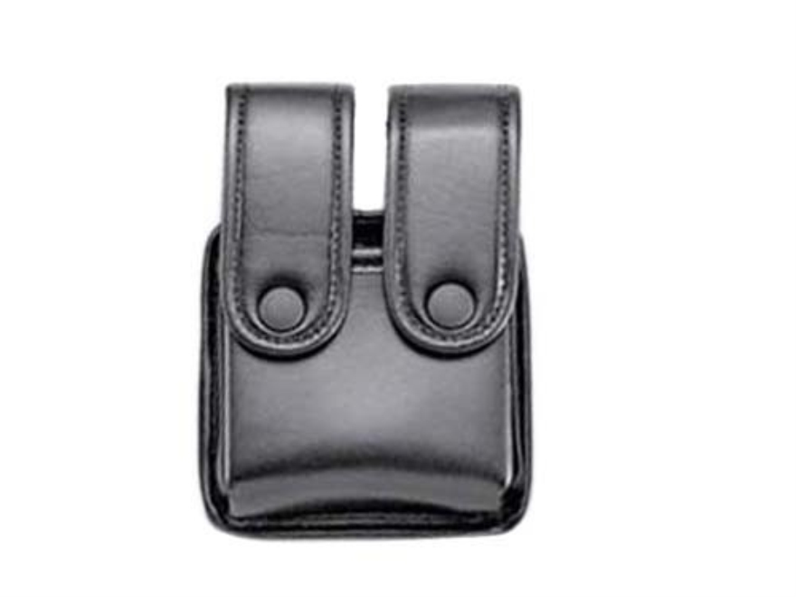 Uncle Mike's Double Magazine Pouch Double Stack Magazine Snap Closure Molded Insert Mir...