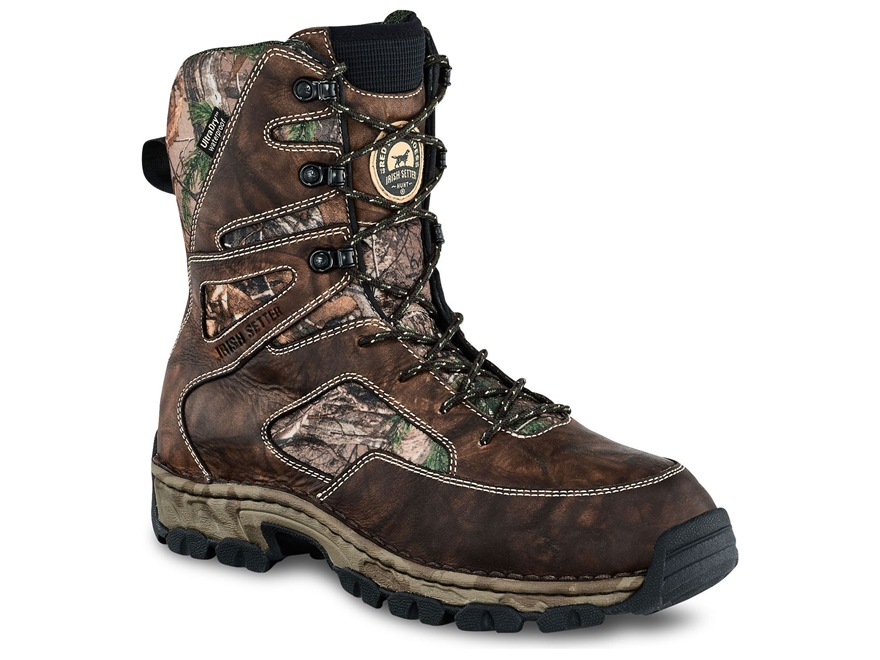 "Irish Setter Havoc XT 10"" Waterproof 600 Gram Insulated Hunting Boots Men's"