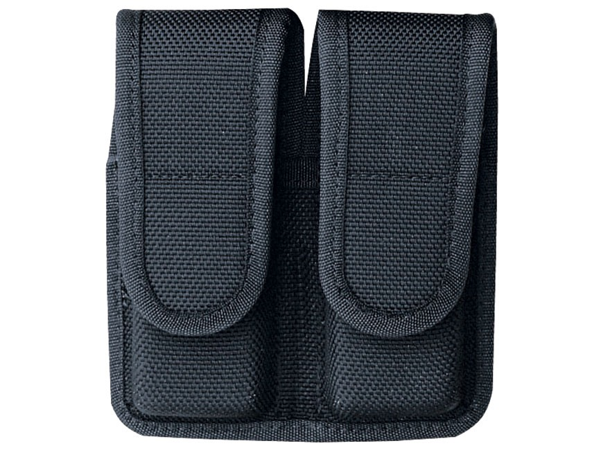 Bianchi 7302 Double Magazine Pouch Beretta 92, Glock 17, 19, 22, 23 Hook-&-Loop Fastene...
